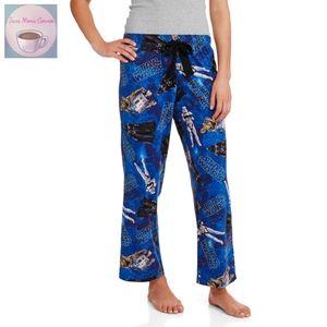 Star Wars Classic Capri Sleep Pants Ultra Blue